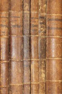 Archiv - Buchrücken